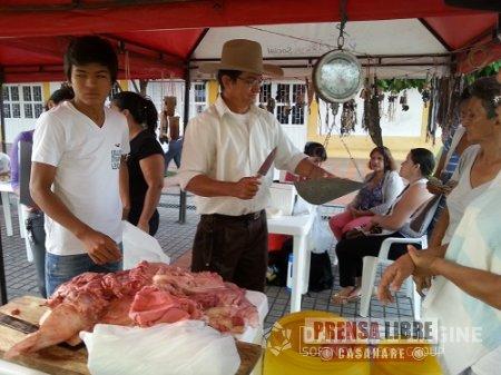 MERCADO SATÉLITE CAMPESINO ESTE DOMINGO EN EL PARQUE LA HERRADURA DE YOPAL