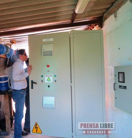 FALLAS DE ENERGÍA ELÉCTRICA NO HAN PERMITIDO LA ENTRADA EN OPERACIÓN DEL POZO PROFUNDO DE VILLA MARIA