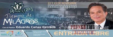 """IGLESIAS CRISTIANAS DE YOPAL REALIZARÁN EVENTO """"RENACE 2013, TIEMPO DE MILAGROS"""""""