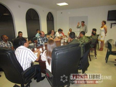 INFORME SOBRE SEGURIDAD CIUDADANA ENTREGÓ ALCALDÍA DE YOPAL A LA ASAMBLEA DEPARTAMENTAL