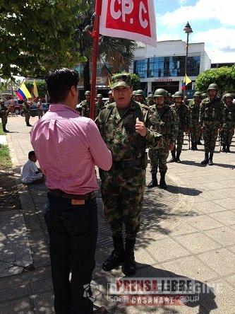 ACTIVADO PELOTÓN DE SOLDADOS CAMPESINOS EN AGUAZUL