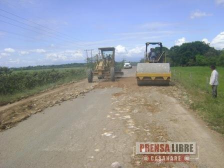 ALCALDESA DE MANÍ LE PEDIÓ A LA GOBERNACIÓN QUE LE APURE CON LA CARRETERA