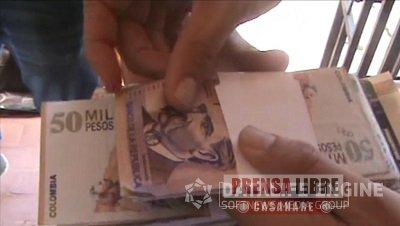 TRES EXTORSIONISTAS FUERON CAPTURADOS EN FLAGRANCIA EN VILLANUEVA
