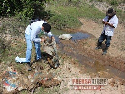 ARROCERAS CONTAMINAN FUENTES HÍDRICAS EN PAZ DE ARIPORO