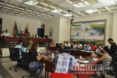 SESIONES ORDINARIAS EN EL CONCEJO MUNICIPAL DE TAURAMENA
