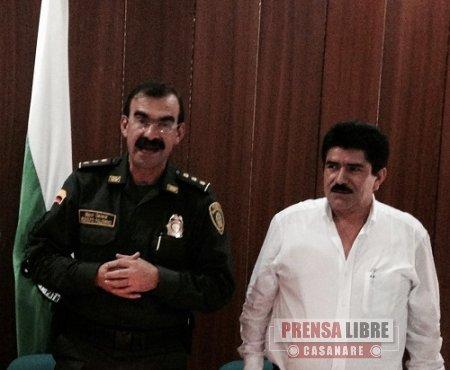 GOBERNACIÓN Y POLICÍA NACIONAL FIRMARON CONVENIO DE CONTROL DEL TRÁNSITO EN CASANARE