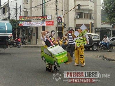 CAMPAÑA DE CULTURA CIUDADANA EN SEMAFOROS DE YOPAL