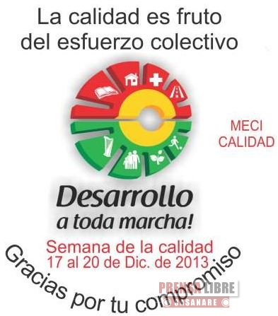 GOBERNACIÓN DE CASANARE QUIERE PASARSE DE CALIDAD