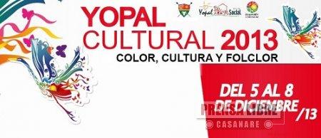 """HOY INICIA FESTIVAL YOPAL CULTURAL 2013 """"CON SENTIDO SOCIAL"""""""