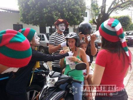EN MONTERREY REALIZAN CAMPAÑA DE PREVENCIÓN VIAL Y CULTURA CIUDADANA