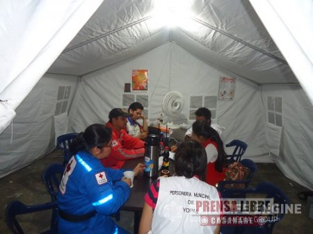 CRUZ ROJA ENTREGÓ BALANCE DE PERSONAS ATENDIDAS DURANTE LAS FESTIVIDADES YOPAL