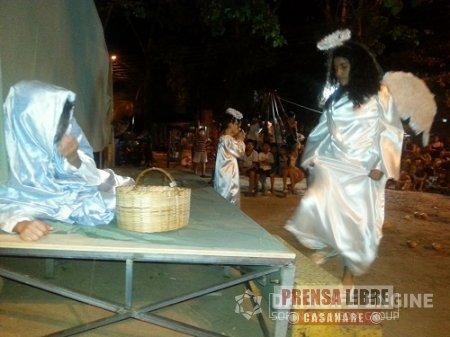 PESEBRE EN VIVO RECORRE BARRIOS DE YOPAL