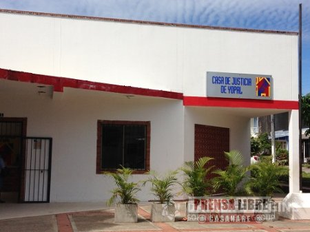 CASA DE JUSTICIA DE YOPAL ESTÁ HOY DE ANIVERSARIO
