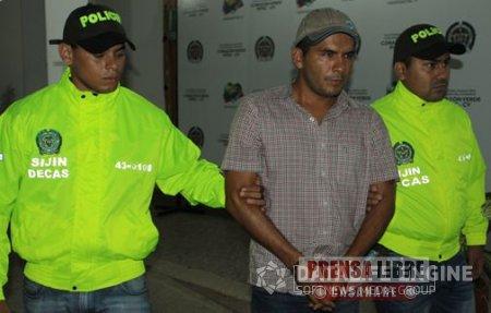 CAPTURADO LIDER COMUNITARIO DE PROTESTAS CONTRA PETROLERAS
