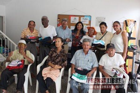 ALCALDÍA DE YOPAL CELEBRÓ LA NAVIDAD A LOS ABUELITOS DEL HOGAR DE PASO DE LA COMUNA 2