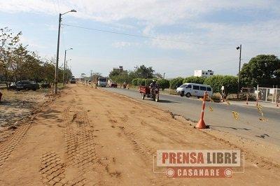 Inició construcción de primera fase de la doble calzada al Corregimiento de Morichal