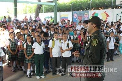 """""""Regreso a Clases, un Compromiso de Corazón"""" campaña para garantizar la seguridad escolar en Casanare"""