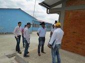 Nuevas aulas de clases y unidades sanitarias en la Escuela del Centro Poblado del Porvenir en Monterrey