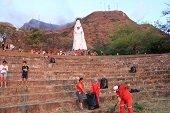 Jornada de limpieza y restauración del Mirador Virgen de Manare