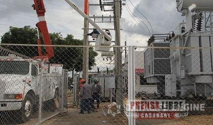 Hoy corte de energía eléctrica en amplio sector del centro del departamento