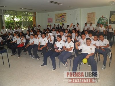Este jueves 30 de enero Yopal se une a conmemoración del Día de la No Violencia Escolar