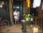 Policía se acerca a la comunidad en Paz de Ariporo