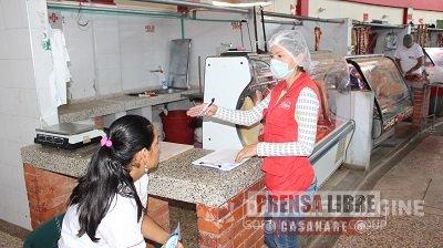 Autoridades sanitarias decomisaron lácteos en operativo de vigilancia y control en la Central de Abastos de Yopal