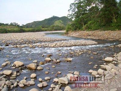 Corporinoquia trabaja en la ordenación de la cuenca del río Guacavia