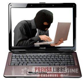 Policía recuperó 4 computadores portátiles y capturó a dos personas