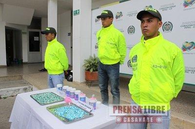 Éxtasis y cocaína rosada halló la Policía Casanare en millonaria encomienda de narcóticos