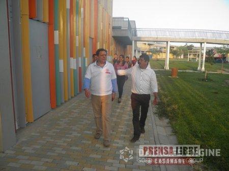 Inversiones para Megacolegio Los Progresos de Yopal anunció Viceministro de Educación