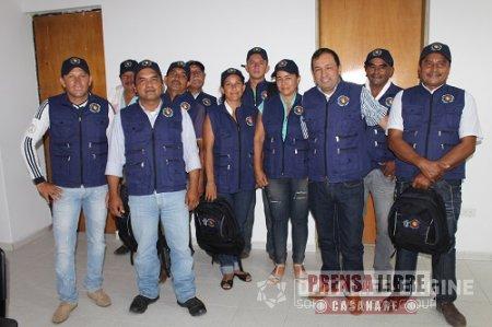 Alcalde de Hato Corozal uniformó a los Presidentes de las juntas de acción Comunal