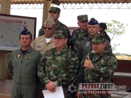 A catorce se elevó el número de guerrilleros muertos en bombardeos en Arauca