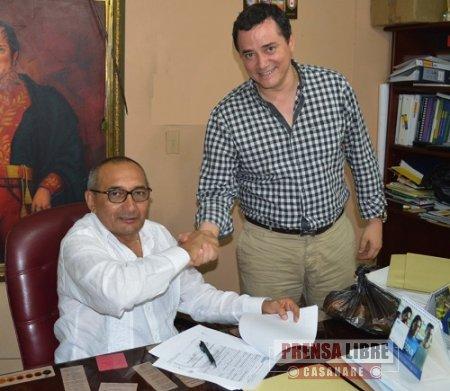 Comfacasanare y Alcaldía de Paz de Ariporo firmaron convenios de vivienda y ludotecas