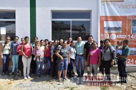 24 viviendas de interés social se entregaron en Tauramena