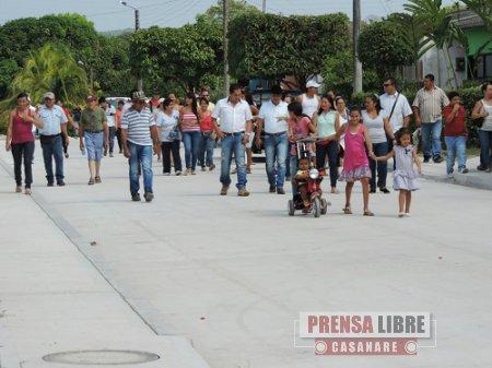 Alcaldía de Monterrey entregó pavimentación del Barrio Julia Luz