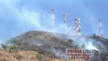 Yopal está entre los 484 municipios en  alerta por el Ideam por riesgo de incendios forestales
