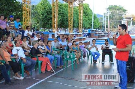 Personería de Yopal interviene en polémica por construcción de andenes en el barrio El Paraíso