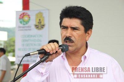 Gobernación de Casanare pide replantear obras viales y apoyo para vivienda de interés social