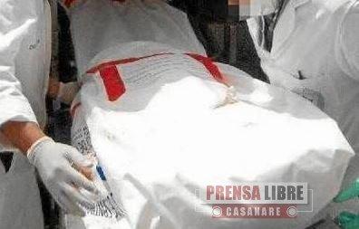 Un hombre fue asesinado en el barrio Villa Vargas de Yopal