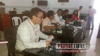 Modificaciones al Presupuesto, analiza Concejo de Yopal en extraordinarias
