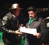 Gobernador de Casanare fue condecorado en su tierra natal