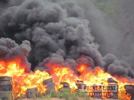 Ejército aclaró su responsabilidad en incendio forestal