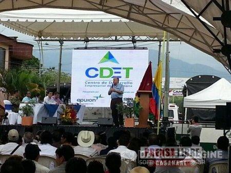 Centro de Desarrollo Empresarial de Tauramena a la espera de ideas de negocios