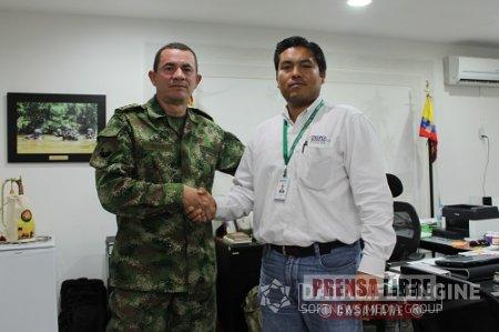 Incendio casi genera corto circuito en las relaciones entre Enerca y el Ejército
