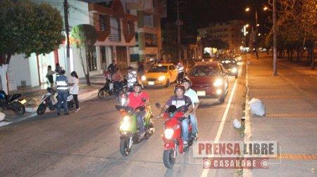 Comenzaron sanciones a conductores en Yopal por uso de cinturón de seguridad y chalecos reflectivos