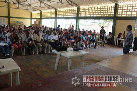 Alcaldía de Pore socializo obras gestionadas ante Gobiernos Nacional y Departamental