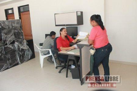Oficina de PQR  abrió alcaldía de Nunchía