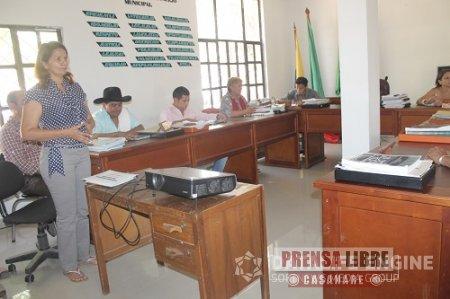 Concejo de Nunchía instaló primer periodo de sesiones en 2014