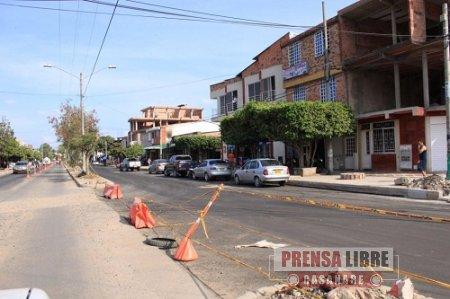 El 10 de marzo entregarán pavimentada la calle 40 de Yopal